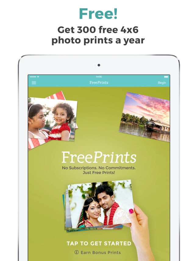 FreePrints ‐ Photos Delivered Screenshot