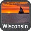 Wisconsin Lakes Fishing Charts