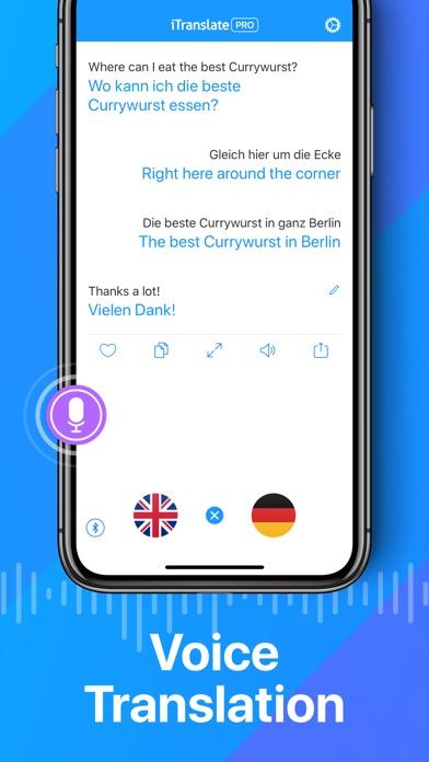 iTranslate Translator screenshot 2