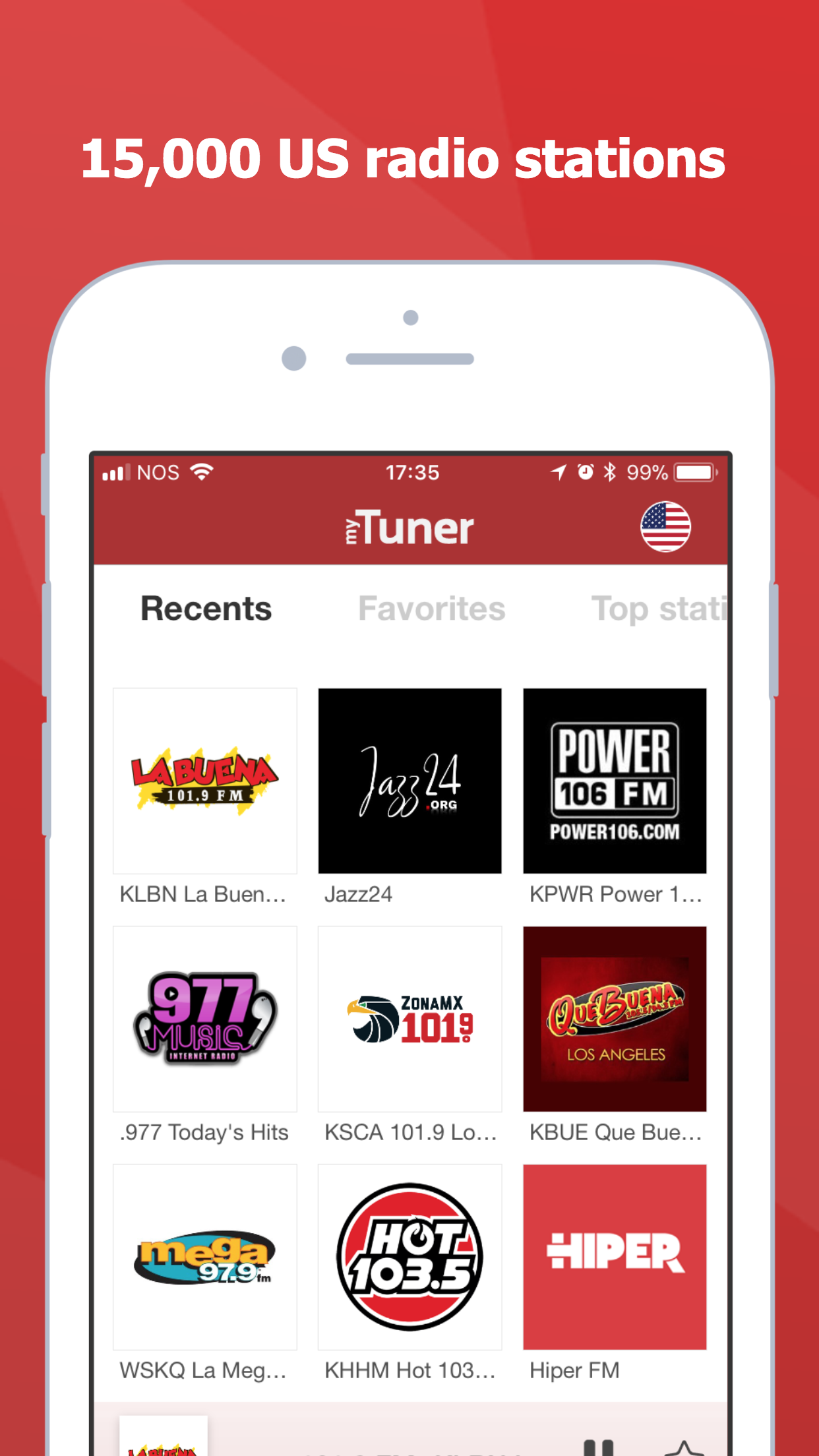 myTuner Radio - Live Stations Screenshot