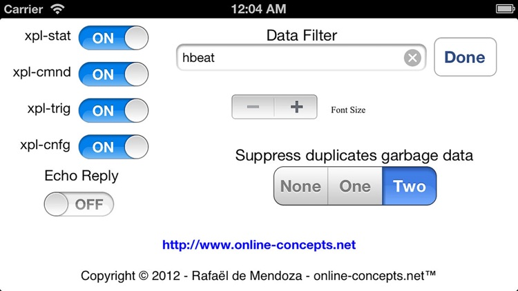 xPL Sniffer screenshot-3