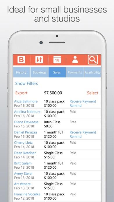 Bobclass Appointment Calendar Screenshots