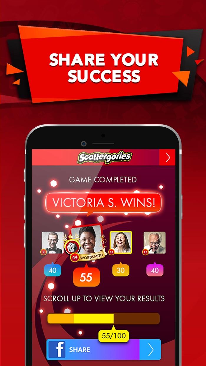 Scattergories Screenshot