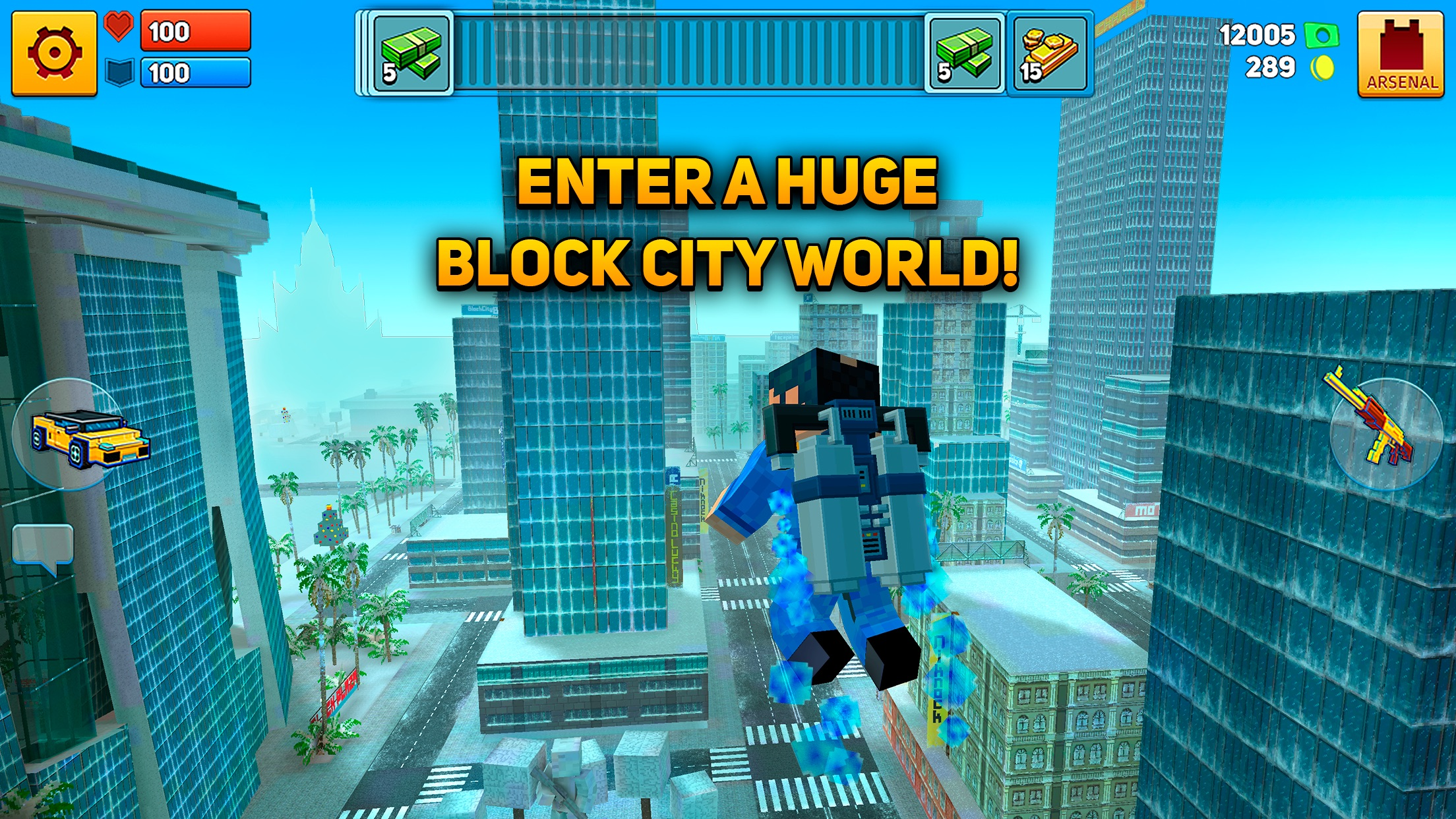 Block City Wars: Mafia Town Screenshot