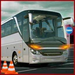 City Bus Parking 3D 2018