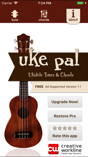 Uke Pal Ukulele Tunerchords On The App Store