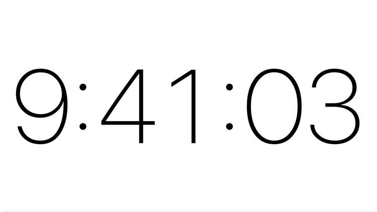 Clocky 9:41 screenshot-3