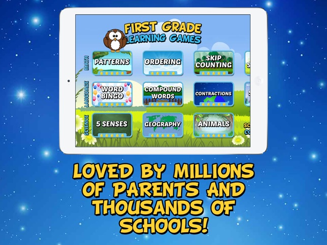 First Grade Learning Games Se On The App Store