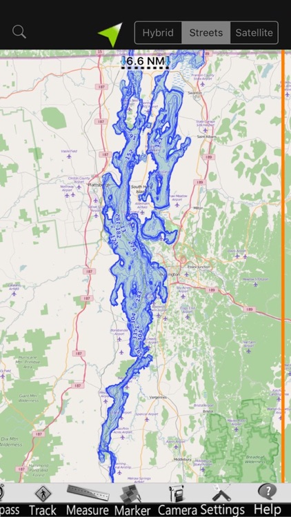Lake Champlain Nautical Charts screenshot-4