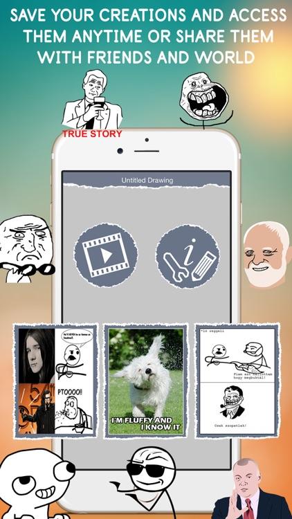 Meme Designer - Custom Memes screenshot-4
