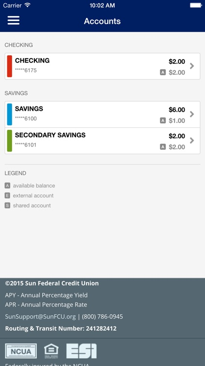 Sun Federal Credit Union screenshot-2