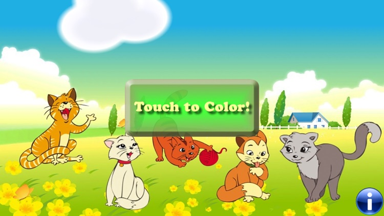 Coloring Book : Cats & Kittens