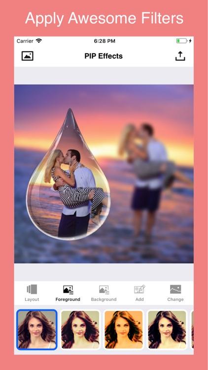 PIP Camera & Effects for Xmas screenshot-3