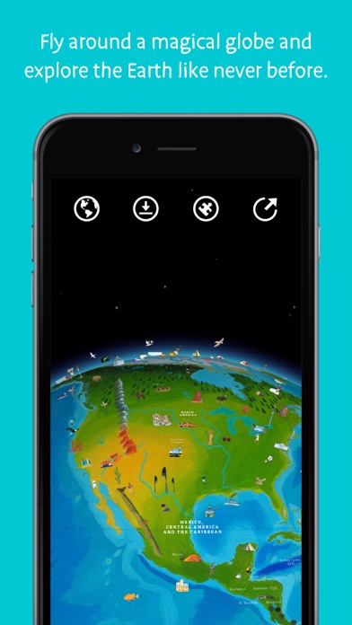 Screenshot for Barefoot World Atlas in Greece App Store