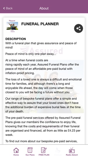 funeral planner on the app store