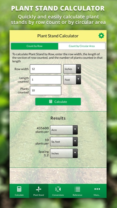 Agro Seeding Rate Calculator screenshot four