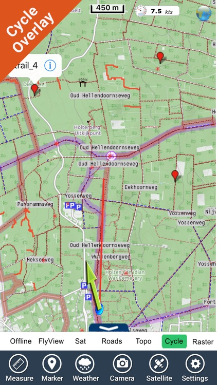 Sallandse Heuvelrug NP GPS and outdoor map