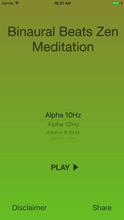 Binaural Beats Zen Meditation