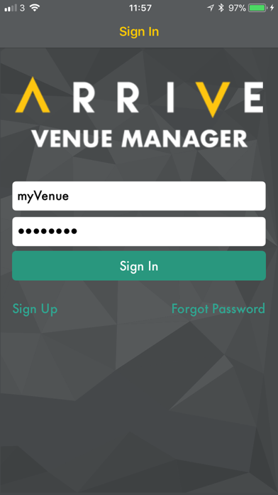 Arrive - Venue Manager screenshot three