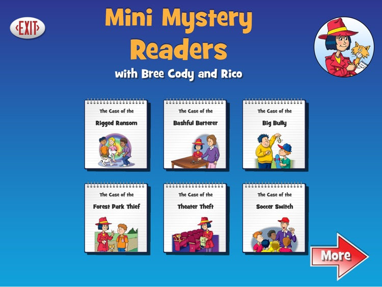 Mini Mystery Readers