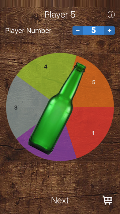 Spin The Bottle for Party Game screenshot 1