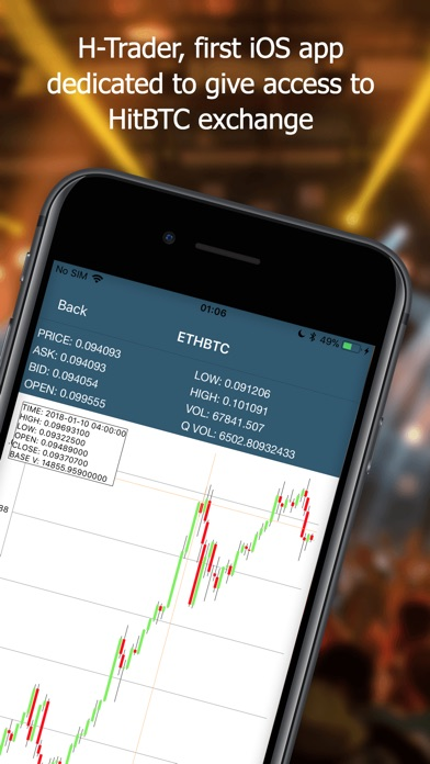 H-Trader for HitBTC screenshot1