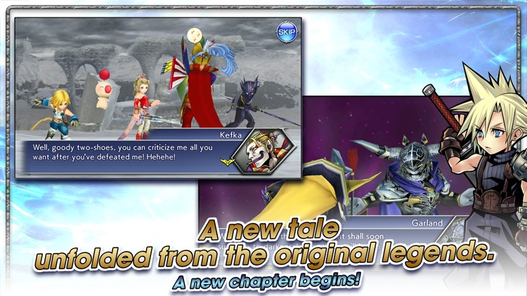 DISSIDIA FINAL FANTASY OO screenshot-3