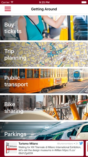 VisitMilano on the App Store