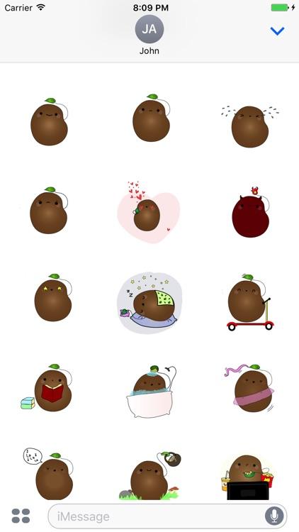 LittleBean Stickers