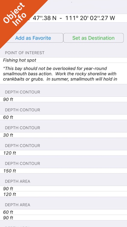 Lake Powell GPS Fishing Charts screenshot-3