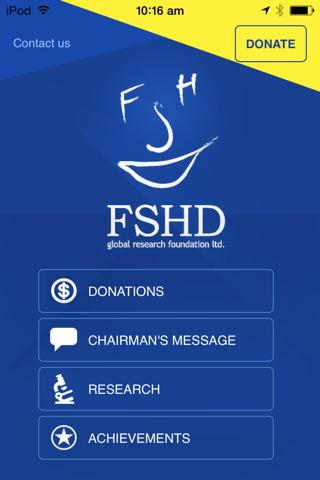 FSHD - Find the Cure screenshot 1