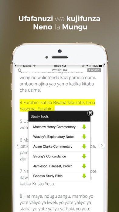 Get Swahili Bible | From Nippt | Mobile apps store