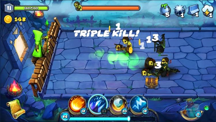 Magic Siege - Defender HD screenshot-3