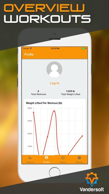 Sheiko Log - Weight Lifting Tracker screenshot-3