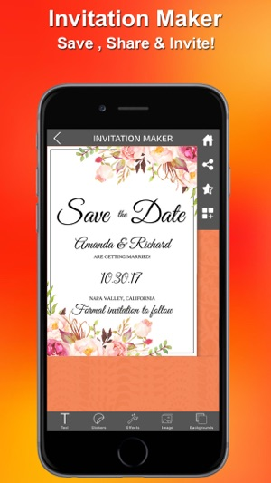 Invitations maker on the app store invitations maker on the app store stopboris Gallery
