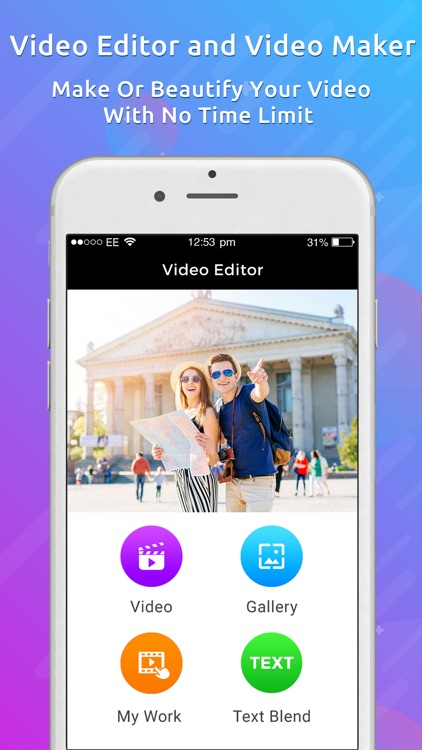Video Editor For iPhone