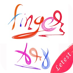 Fingertip Art : Name Art