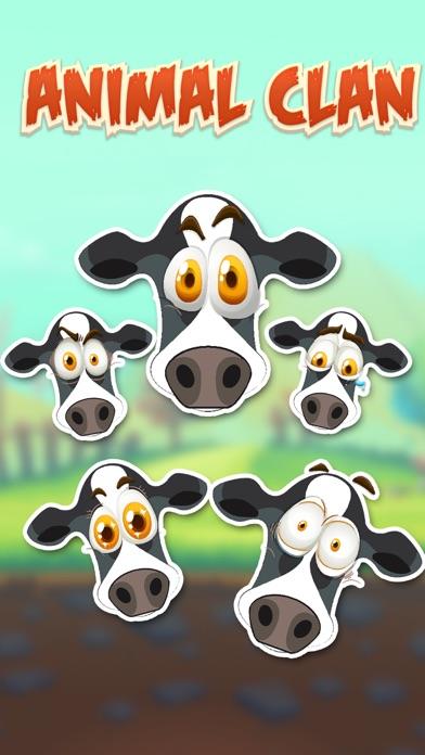 Animal Clan Cow Stickers Screenshot 1