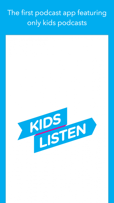 Kids Listen: Podcasts for kids screenshot one