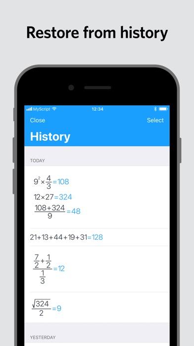 MyScript Calculator screenshot 5