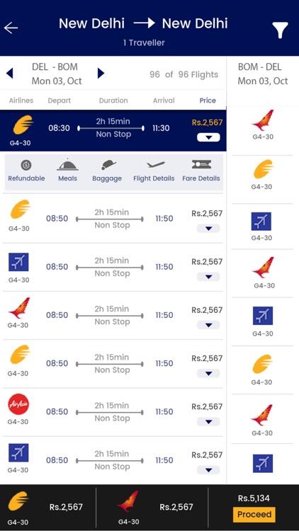 Hiztrip - Flights & Hotels screenshot-3