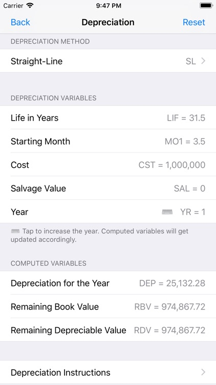 Financial Calculator++ screenshot-5