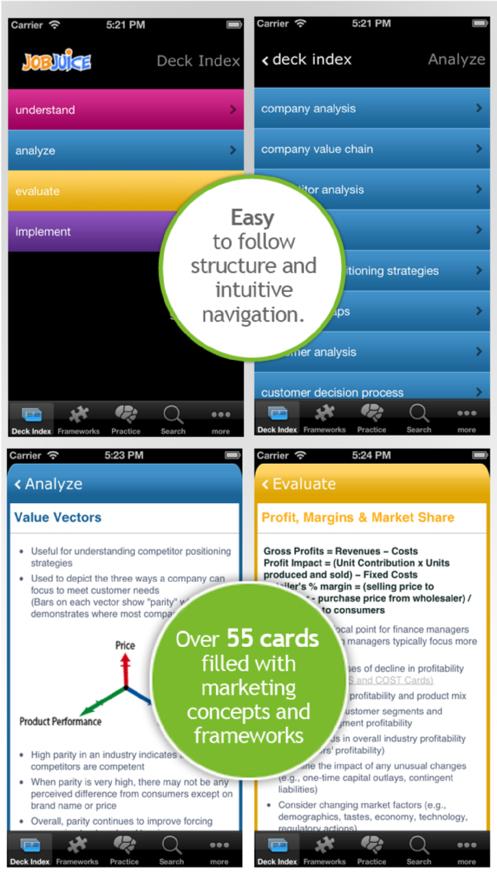 Jobjuice Marketing App 截图