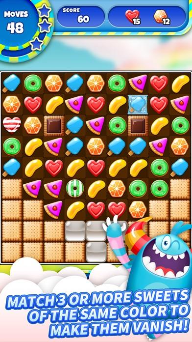 SugarLand - A match 3 puzzle screenshot 1
