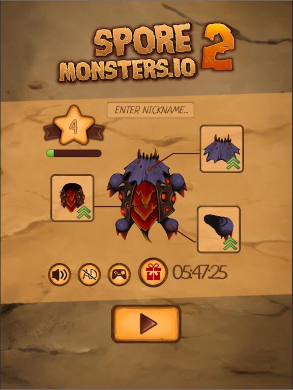 Spore Monsters.io 2 [Premium] для iPad
