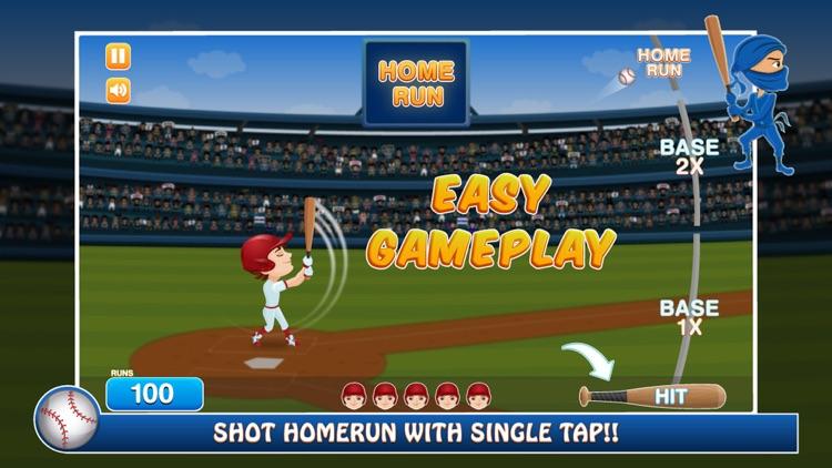 Baseball Practice Battle Game screenshot-0