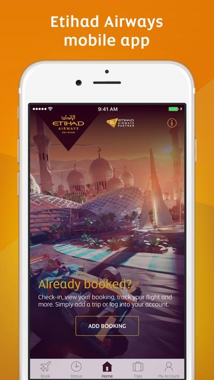 Etihad Airways screenshot-0
