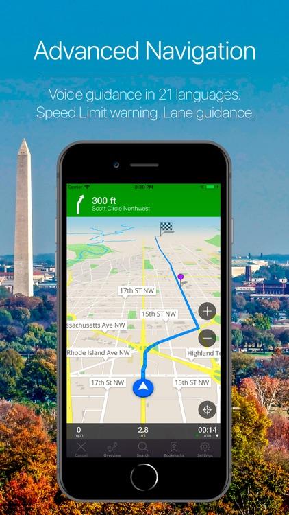 Washington DC Navigation screenshot-3