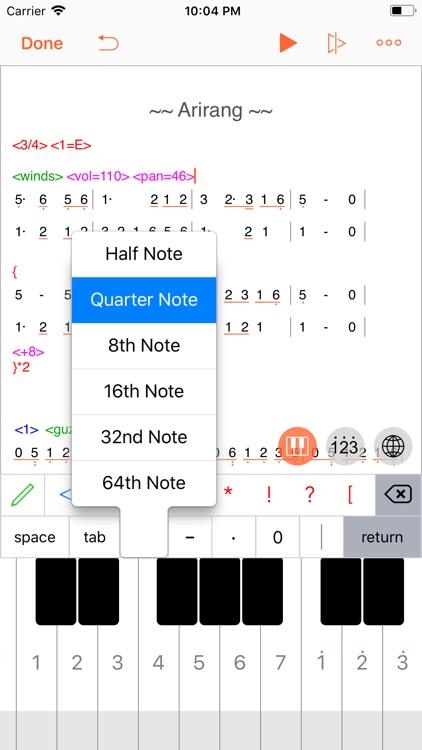 TextMusic screenshot-4