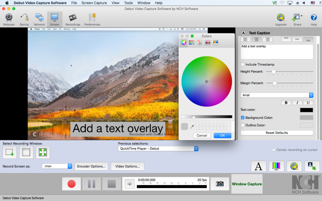 mac video capture software